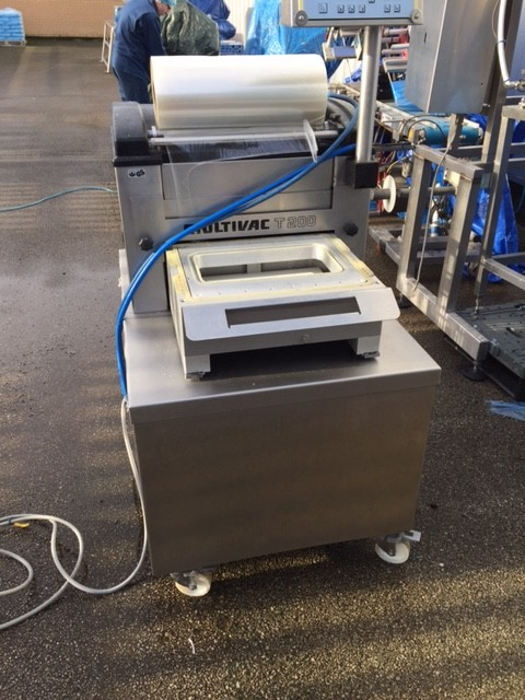 Multivac T200 Tray Sealer - SOLD